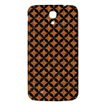 CIRCLES3 BLACK MARBLE & RUSTED METAL Samsung Galaxy Mega I9200 Hardshell Back Case