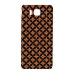 CIRCLES3 BLACK MARBLE & RUSTED METAL Samsung Galaxy Alpha Hardshell Back Case