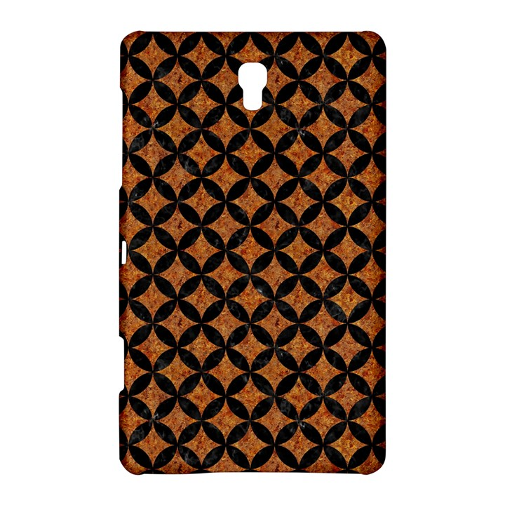 CIRCLES3 BLACK MARBLE & RUSTED METAL Samsung Galaxy Tab S (8.4 ) Hardshell Case