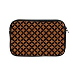 CIRCLES3 BLACK MARBLE & RUSTED METAL Apple MacBook Pro 13  Zipper Case