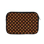 CIRCLES3 BLACK MARBLE & RUSTED METAL Apple MacBook Pro 15  Zipper Case