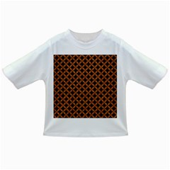 CIRCLES3 BLACK MARBLE & RUSTED METAL (R) Infant/Toddler T-Shirts