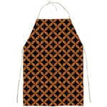 CIRCLES3 BLACK MARBLE & RUSTED METAL (R) Full Print Aprons