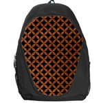 CIRCLES3 BLACK MARBLE & RUSTED METAL (R) Backpack Bag