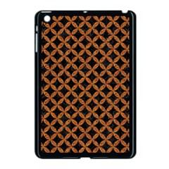CIRCLES3 BLACK MARBLE & RUSTED METAL (R) Apple iPad Mini Case (Black)