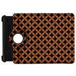 CIRCLES3 BLACK MARBLE & RUSTED METAL (R) Kindle Fire HD 7