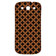 CIRCLES3 BLACK MARBLE & RUSTED METAL (R) Samsung Galaxy S3 S III Classic Hardshell Back Case