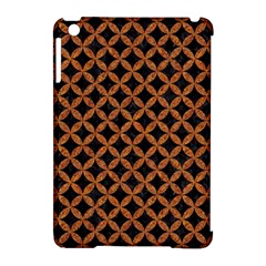 CIRCLES3 BLACK MARBLE & RUSTED METAL (R) Apple iPad Mini Hardshell Case (Compatible with Smart Cover)