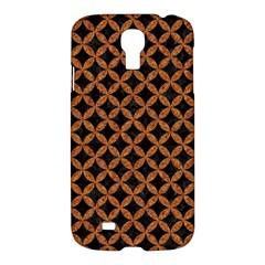 CIRCLES3 BLACK MARBLE & RUSTED METAL (R) Samsung Galaxy S4 I9500/I9505 Hardshell Case
