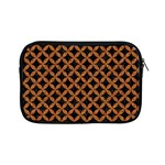CIRCLES3 BLACK MARBLE & RUSTED METAL (R) Apple iPad Mini Zipper Cases
