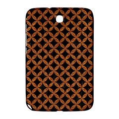 CIRCLES3 BLACK MARBLE & RUSTED METAL (R) Samsung Galaxy Note 8.0 N5100 Hardshell Case