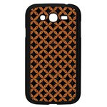 CIRCLES3 BLACK MARBLE & RUSTED METAL (R) Samsung Galaxy Grand DUOS I9082 Case (Black)
