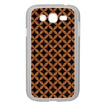 CIRCLES3 BLACK MARBLE & RUSTED METAL (R) Samsung Galaxy Grand DUOS I9082 Case (White)