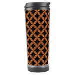 CIRCLES3 BLACK MARBLE & RUSTED METAL (R) Travel Tumbler Right