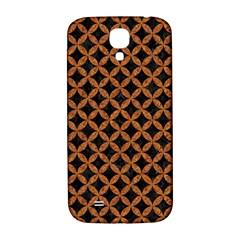 CIRCLES3 BLACK MARBLE & RUSTED METAL (R) Samsung Galaxy S4 I9500/I9505  Hardshell Back Case