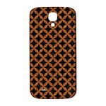 CIRCLES3 BLACK MARBLE & RUSTED METAL (R) Samsung Galaxy S4 I9500/I9505  Hardshell Back Case