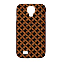 CIRCLES3 BLACK MARBLE & RUSTED METAL (R) Samsung Galaxy S4 Classic Hardshell Case (PC+Silicone)