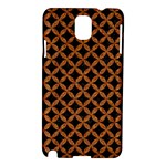 CIRCLES3 BLACK MARBLE & RUSTED METAL (R) Samsung Galaxy Note 3 N9005 Hardshell Case