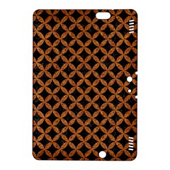 Circles3 Black Marble & Rusted Metal (r) Kindle Fire Hdx 8 9  Hardshell Case by trendistuff