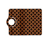 CIRCLES3 BLACK MARBLE & RUSTED METAL (R) Kindle Fire HD (2013) Flip 360 Case