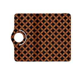Circles3 Black Marble & Rusted Metal (r) Kindle Fire Hdx 8 9  Flip 360 Case by trendistuff