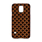 CIRCLES3 BLACK MARBLE & RUSTED METAL (R) Samsung Galaxy S5 Hardshell Case