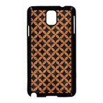 CIRCLES3 BLACK MARBLE & RUSTED METAL (R) Samsung Galaxy Note 3 Neo Hardshell Case (Black)