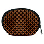 CIRCLES3 BLACK MARBLE & RUSTED METAL (R) Accessory Pouches (Medium)  Back