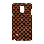 CIRCLES3 BLACK MARBLE & RUSTED METAL (R) Samsung Galaxy Note 4 Hardshell Case