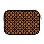CIRCLES3 BLACK MARBLE & RUSTED METAL (R) Apple MacBook Pro 17  Zipper Case