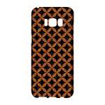 CIRCLES3 BLACK MARBLE & RUSTED METAL (R) Samsung Galaxy S8 Hardshell Case