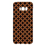 CIRCLES3 BLACK MARBLE & RUSTED METAL (R) Samsung Galaxy S8 Plus Hardshell Case