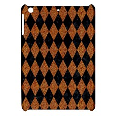 Diamond1 Black Marble & Rusted Metal Apple Ipad Mini Hardshell Case by trendistuff
