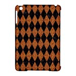 DIAMOND1 BLACK MARBLE & RUSTED METAL Apple iPad Mini Hardshell Case (Compatible with Smart Cover)