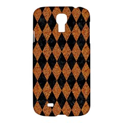 Diamond1 Black Marble & Rusted Metal Samsung Galaxy S4 I9500/i9505 Hardshell Case by trendistuff