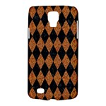 DIAMOND1 BLACK MARBLE & RUSTED METAL Galaxy S4 Active