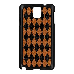Diamond1 Black Marble & Rusted Metal Samsung Galaxy Note 3 N9005 Case (black) by trendistuff