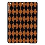 DIAMOND1 BLACK MARBLE & RUSTED METAL iPad Air Hardshell Cases