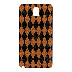 Diamond1 Black Marble & Rusted Metal Samsung Galaxy Note 3 N9005 Hardshell Back Case by trendistuff