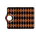DIAMOND1 BLACK MARBLE & RUSTED METAL Kindle Fire HD (2013) Flip 360 Case