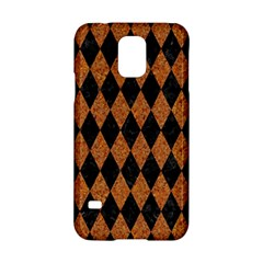 Diamond1 Black Marble & Rusted Metal Samsung Galaxy S5 Hardshell Case  by trendistuff