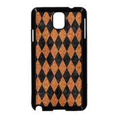 Diamond1 Black Marble & Rusted Metal Samsung Galaxy Note 3 Neo Hardshell Case (black) by trendistuff