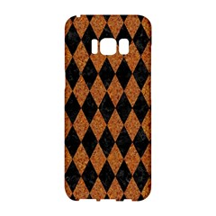 Diamond1 Black Marble & Rusted Metal Samsung Galaxy S8 Hardshell Case  by trendistuff