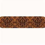 DAMASK1 BLACK MARBLE & RUSTED METAL Large Bar Mats 34 x9.03 Bar Mat - 1
