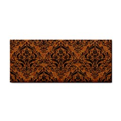 DAMASK1 BLACK MARBLE & RUSTED METAL Cosmetic Storage Cases