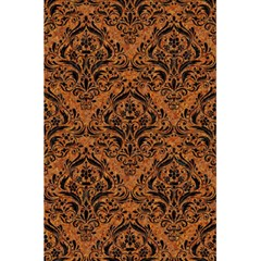 Damask1 Black Marble & Rusted Metal 5 5  X 8 5  Notebooks