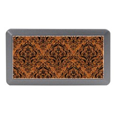 Damask1 Black Marble & Rusted Metal Memory Card Reader (mini) by trendistuff