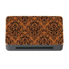 Damask1 Black Marble & Rusted Metal Memory Card Reader With Cf by trendistuff