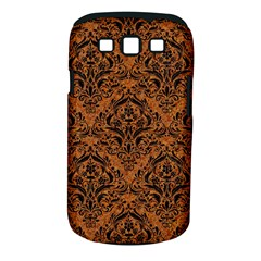 DAMASK1 BLACK MARBLE & RUSTED METAL Samsung Galaxy S III Classic Hardshell Case (PC+Silicone)