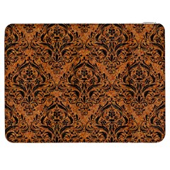 Damask1 Black Marble & Rusted Metal Samsung Galaxy Tab 7  P1000 Flip Case